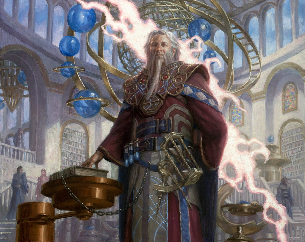 Barrin, Tolarian Archmage Will Be Bouncing Bombs On Both Battlefields