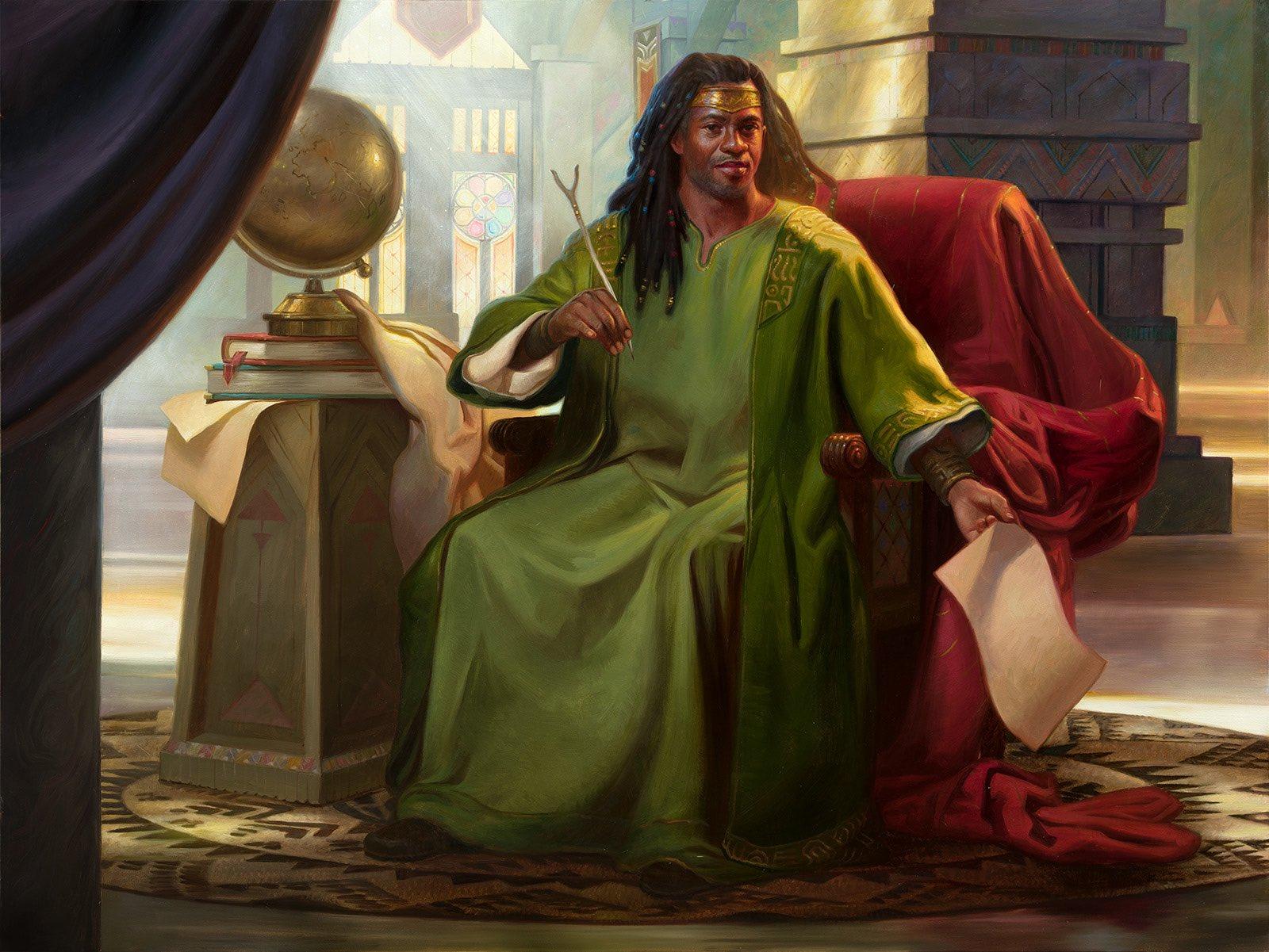 Commander Top 10: Mangara, The Diplomat