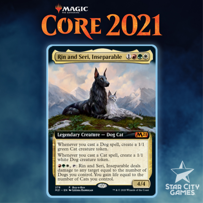 Core Set 2021 For Commander First Looks: Rin And Seri, Inseparable
