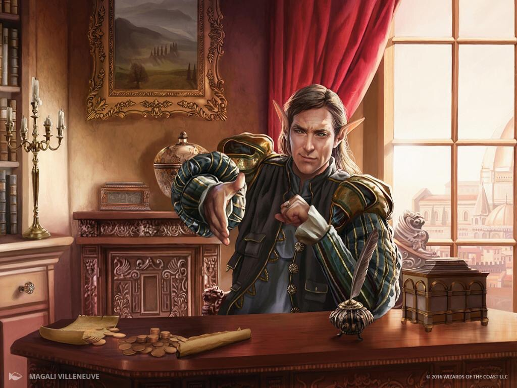 How Early Do You Draft Leovold, Emissary Of Trest In Vintage Cube?