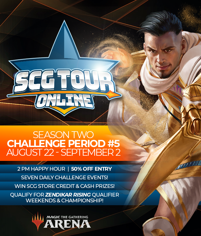 SCG Tour Online Championship Qualifier #5 Shifts From Standard To Historic