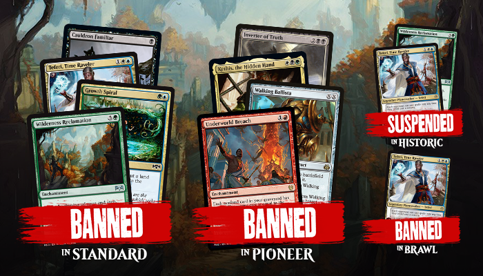 Are These The Most Surprising Magic: The Gathering Bannings Ever?