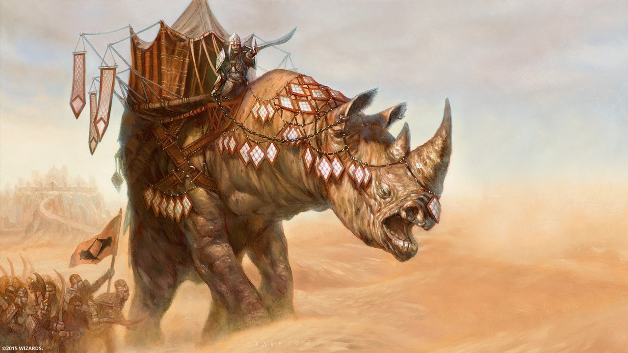 Introducing Abzan Rhino In Pioneer