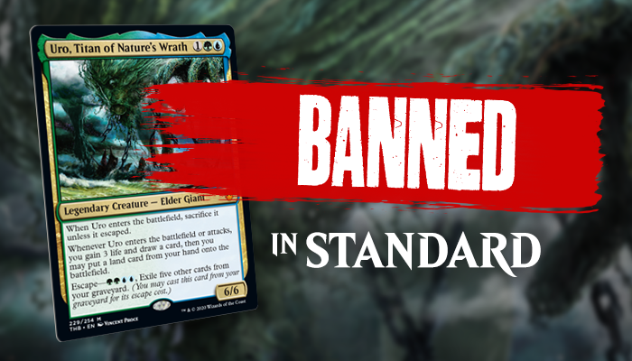 Uro, Titan of Nature's Wrath Banned In Standard