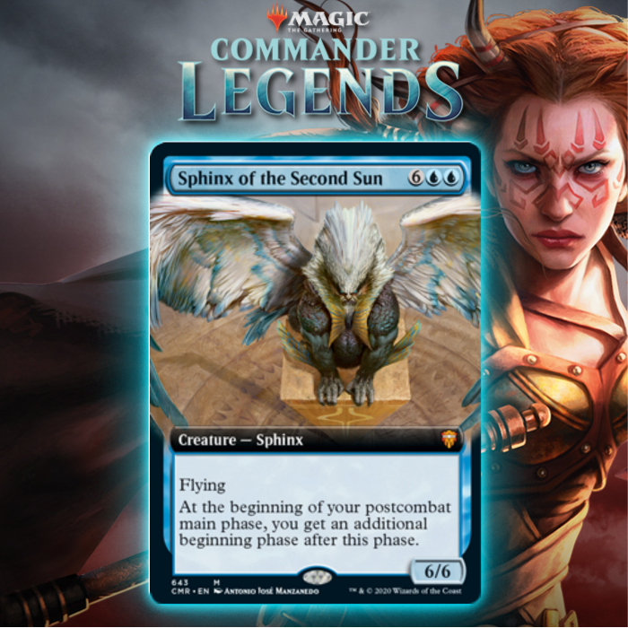 Blue Gets New Sphinx In Sphinx of the Second Sun In Commander Legends