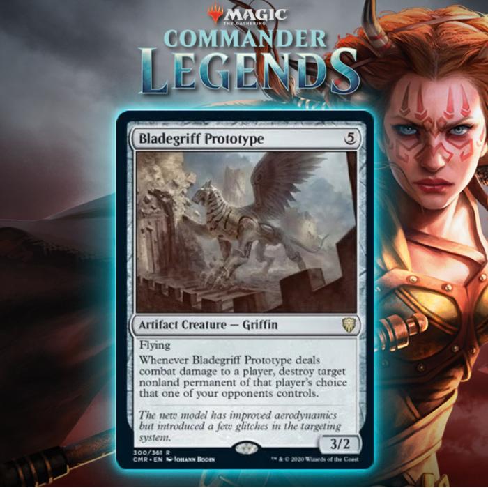 Bladegriff Prototype Supplies Diplomatic Destruction In Commander Legends
