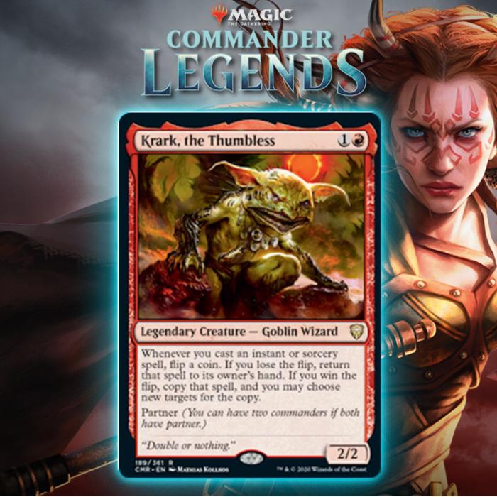 Good Morning Magic Previews Legendary Goblin Partner In Commander Legends