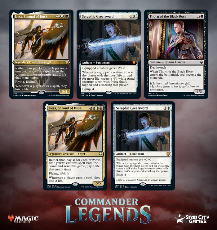 New Orzhov Legendary Angel Mythic Equipment Arrive In Commander Legends Scg Articles Hey, i checked didn't see a post about this anywhere. new orzhov legendary angel mythic