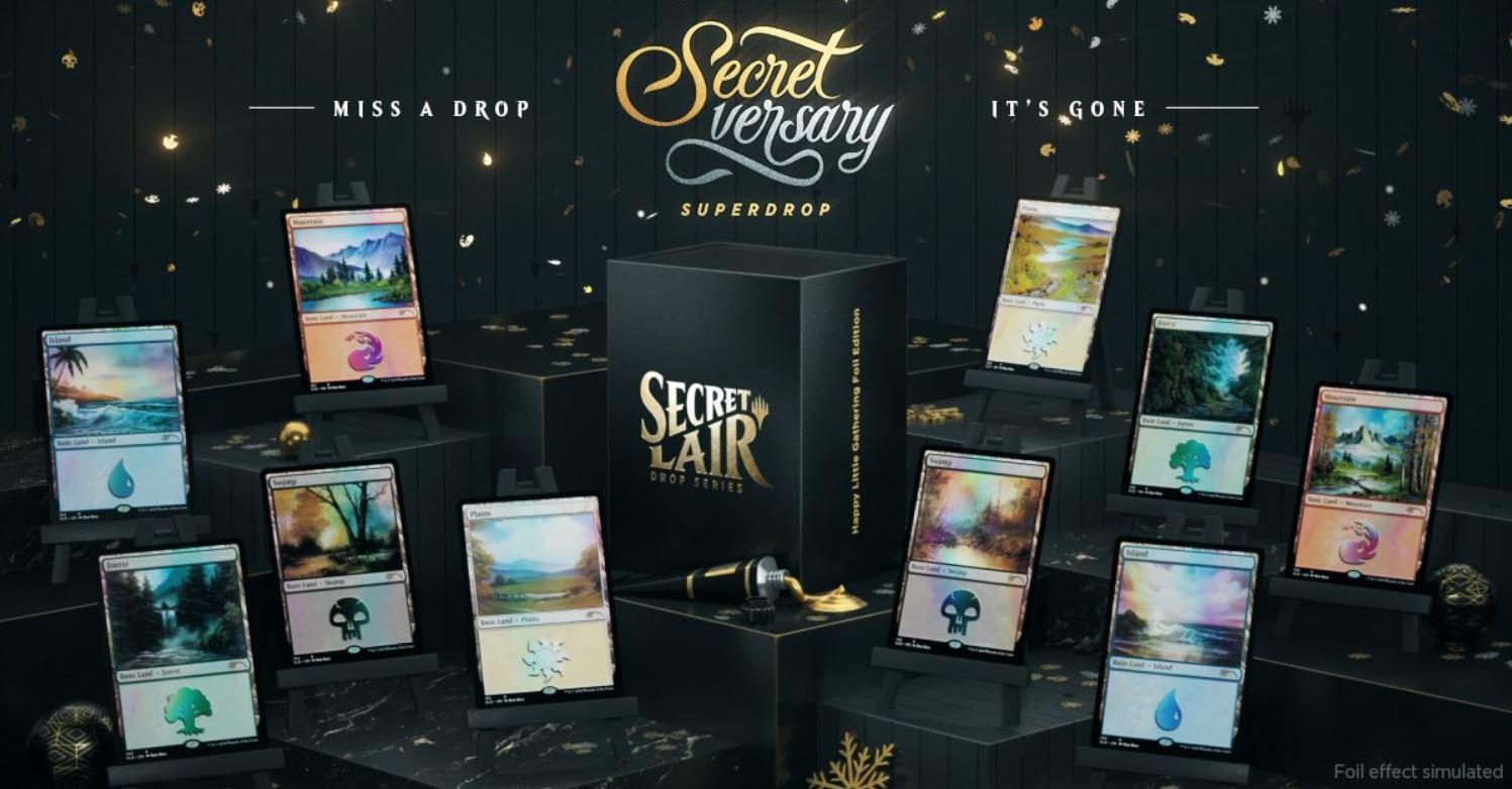 Bob Ross Secret Lair Unveiled
