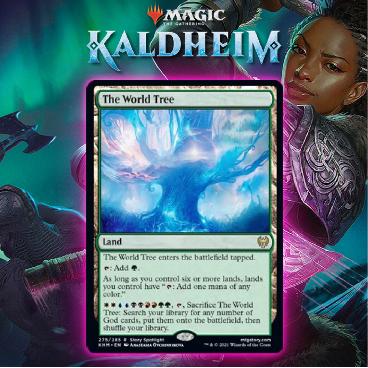 Kaldheim Introduces The World Tree