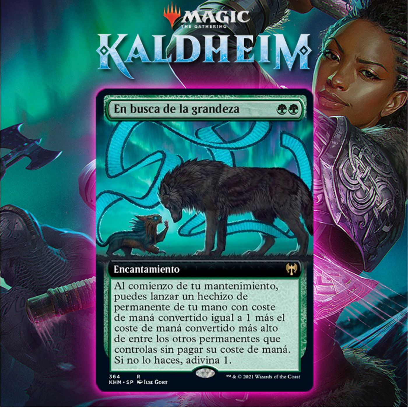 In Search of Greatness Gives Huge Boost To Green Decks In Kaldheim