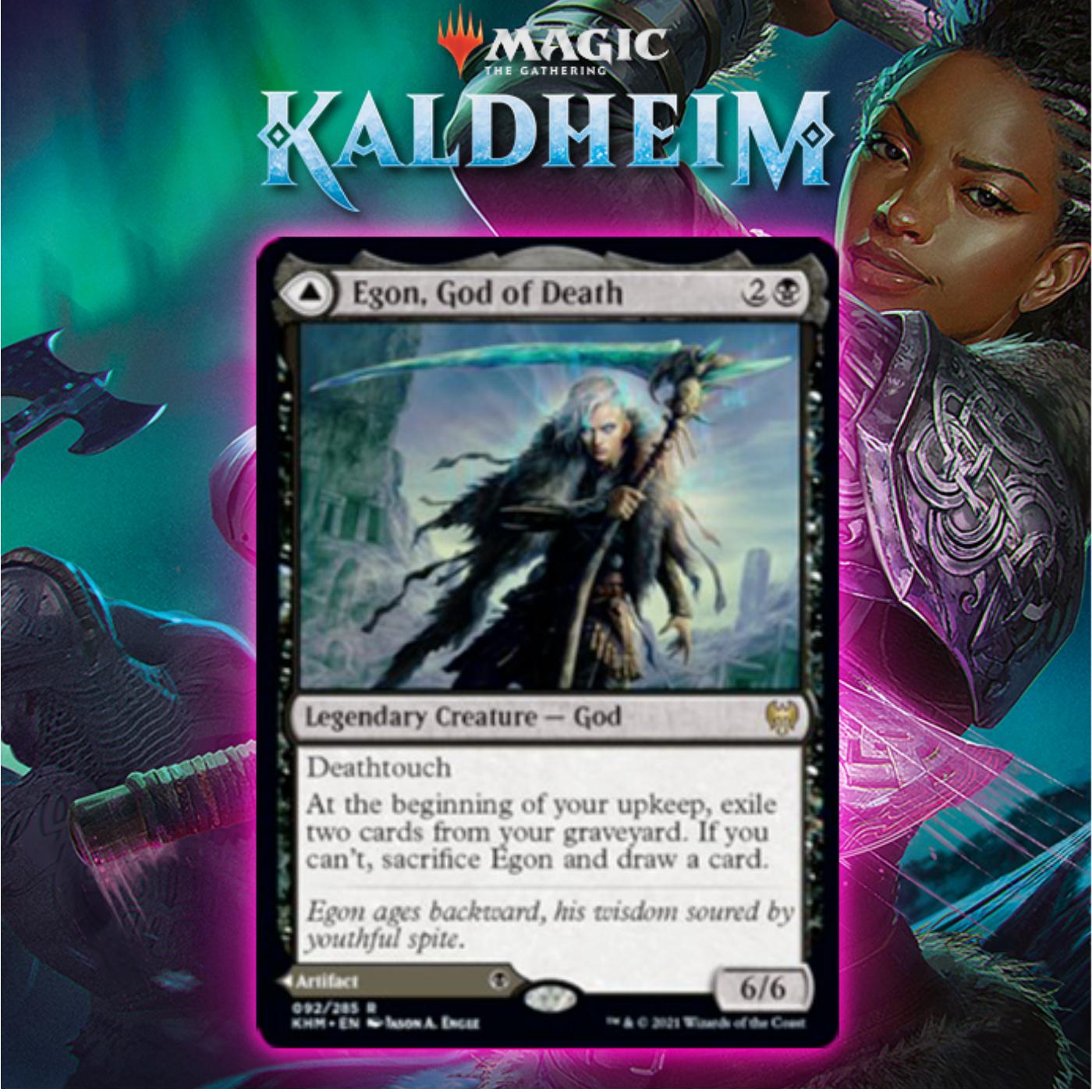 Black Gets Modal DFC God In Egon, God of Death In Kaldheim