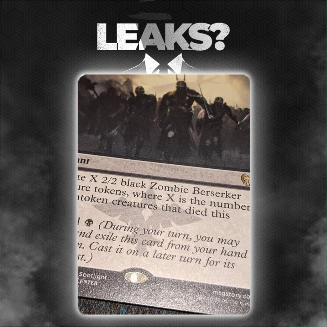 Kaldheim Leak Appears To Show Another Card With Foretell