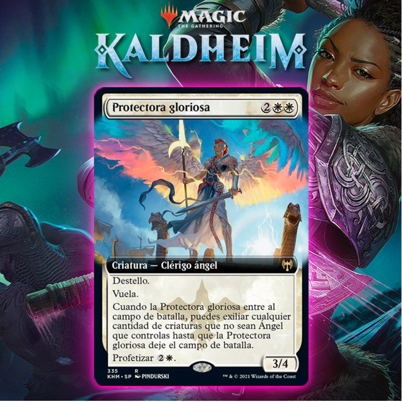 White Gets New Flash Angel In Glorious Protector In Kaldheim