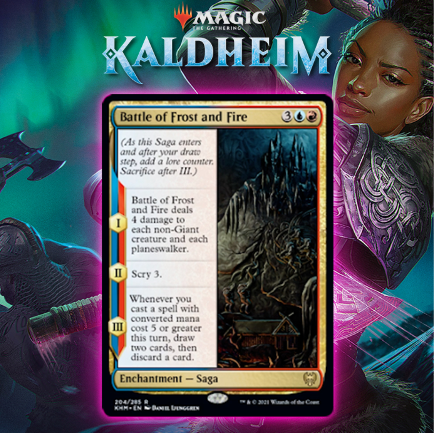 Izzet Gets Powerful Saga In Battle of Frost and Fire In Kaldheim
