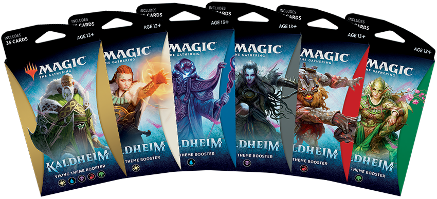 WotC Unveils All Kaldheim Products Including Two New Commander Precons