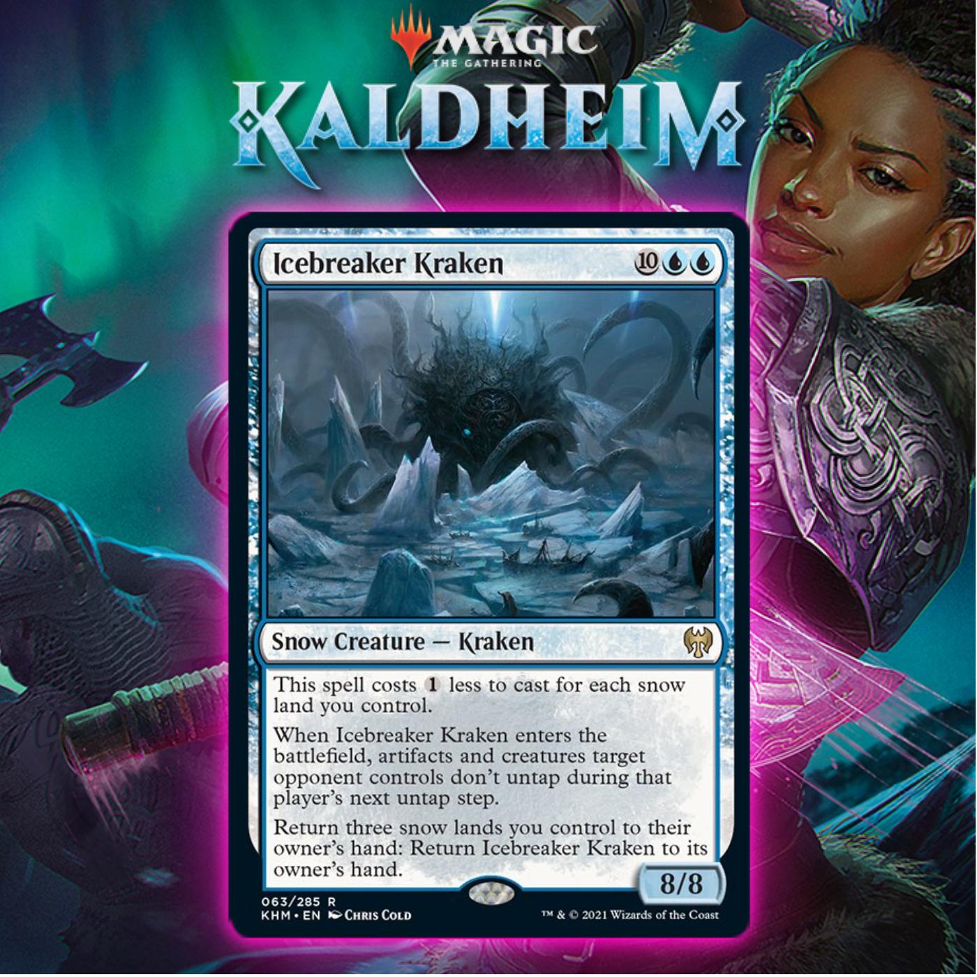 Blue Releases The Kraken With Icebreaker Kraken In Kaldheim