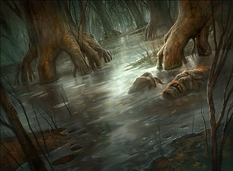 Urborg, Tomb of Yawgmoth and Bojuka Bog Returning In Time Spiral Remastered