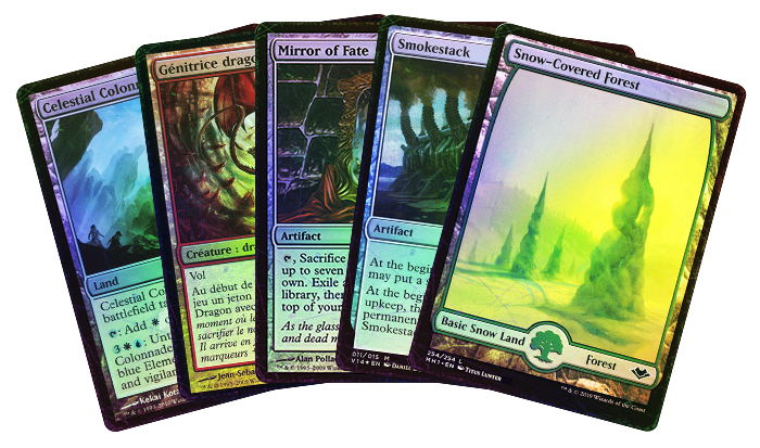Save 20% On All PL/HP Condition FOILS Through Monday!