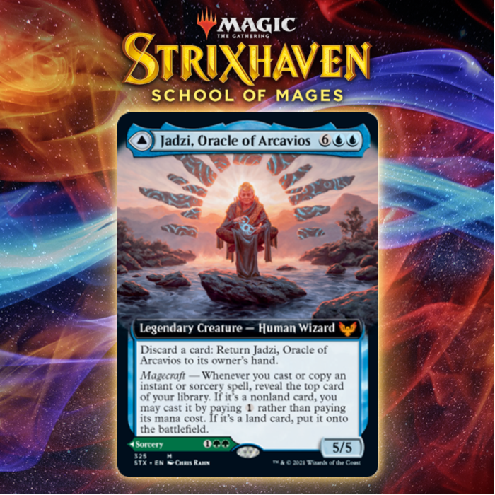 Jadzi, Oracle Of Arcavios Gives Quandrix A Ramp Payoff In Strixhaven