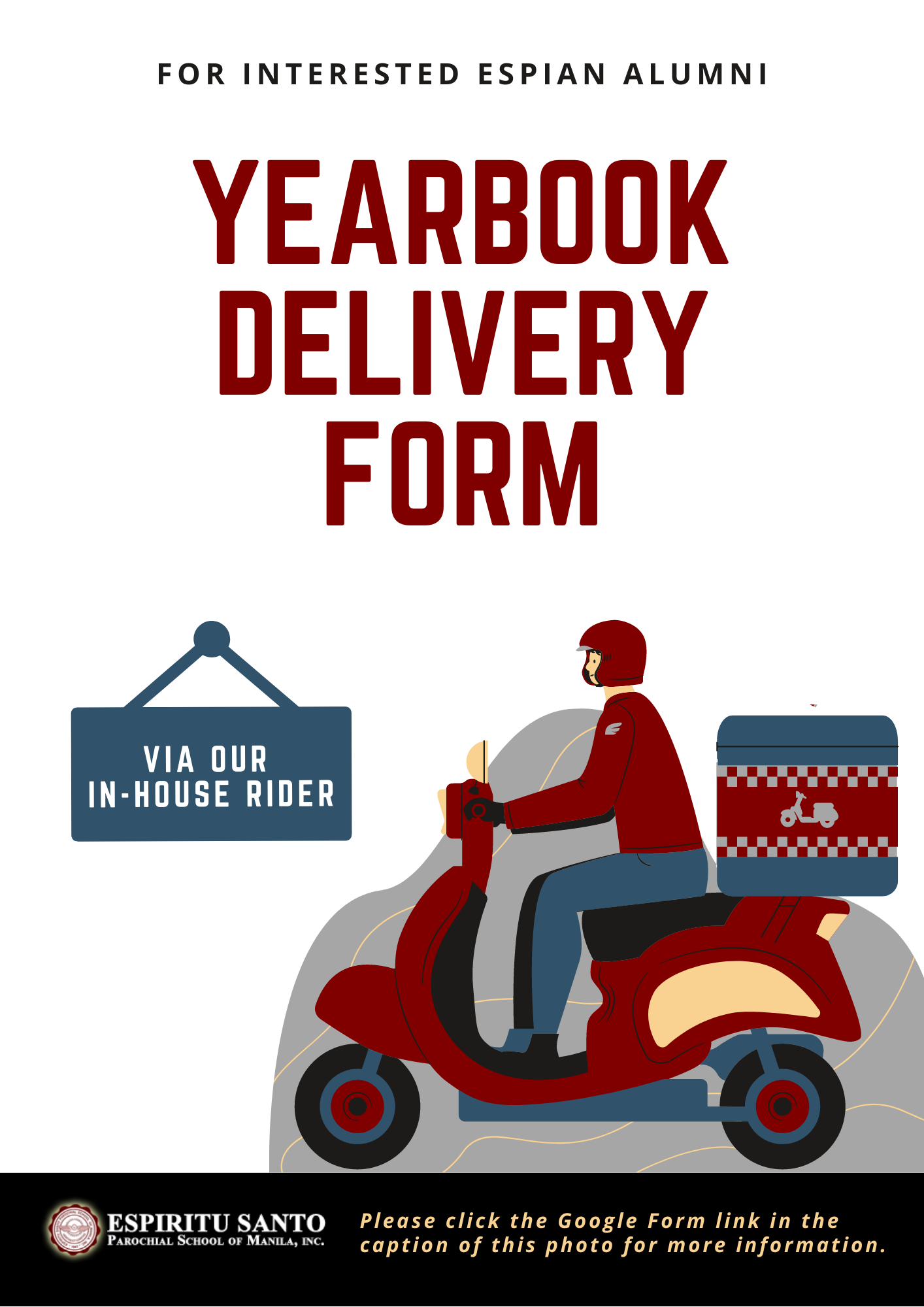 Yearbook Delivery Forms