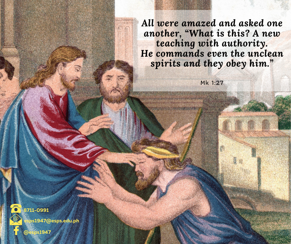 January 31-Fourth Sunday in Ordinary Time