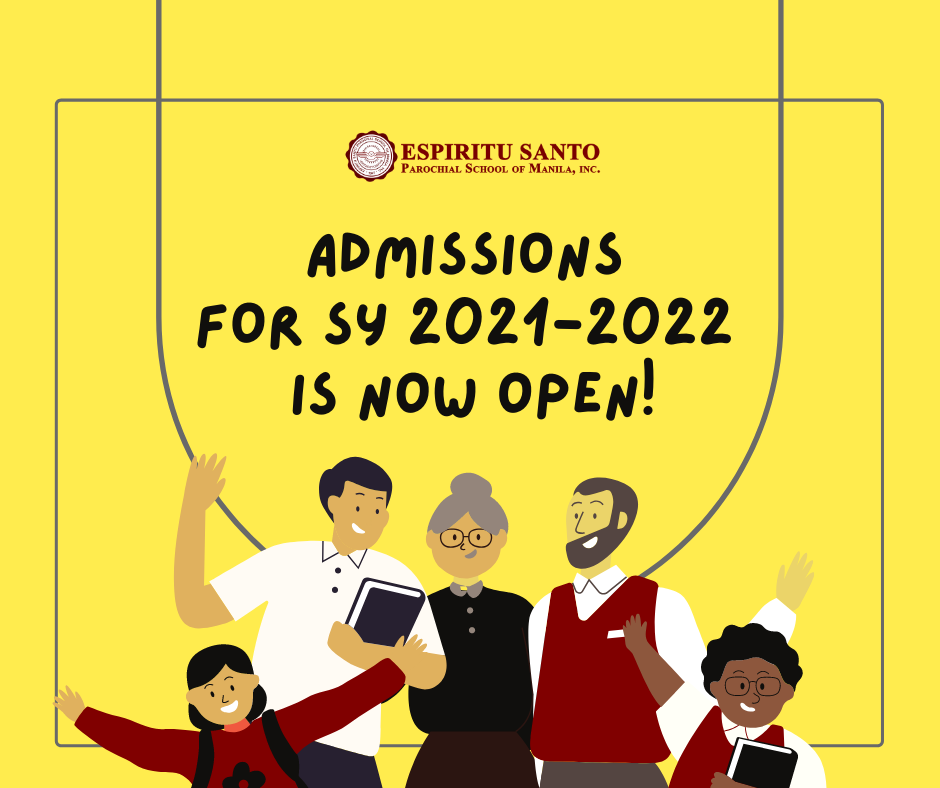 Online Admissions SY 2021-2022