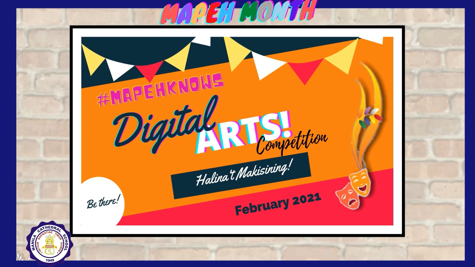 Welcome to the Virtual Art Exhibit of Manila Cathedral School!