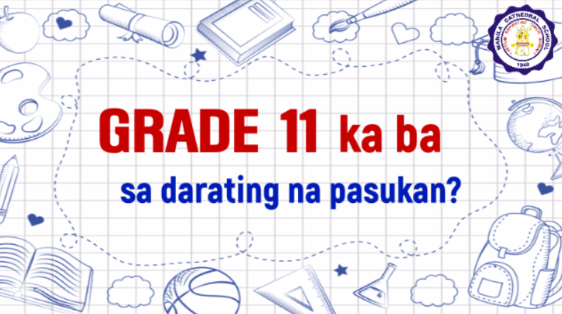 Are you an incoming Grade 11 student? We have something good to offer you! Please watch this video to know more!