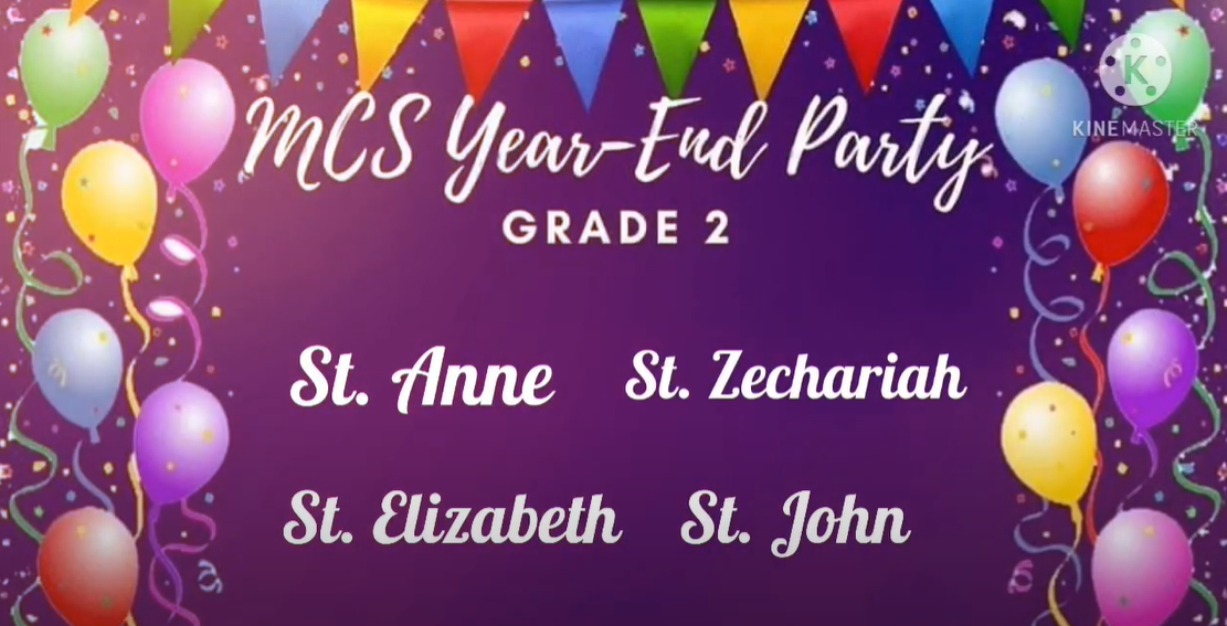 GRADE 2 YEAR-END CELEBRATION. As we end this memorable school year, here are some glimpses of our fun and exciting online activities with our much awaited year-end party.