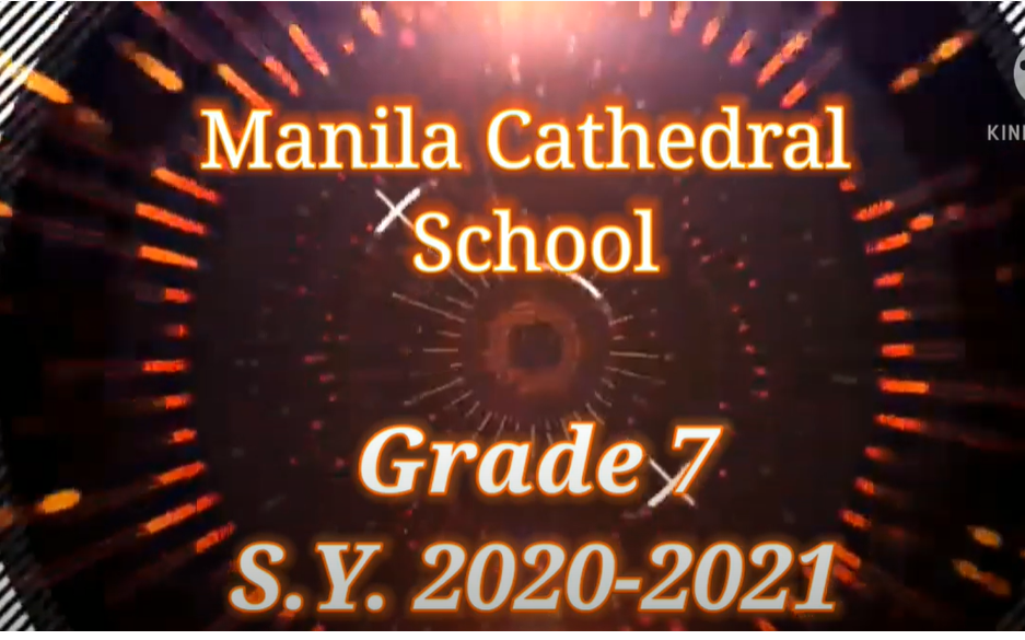 GRADE 7 YEAR-END CELEBRATION. As we end this memorable school year, here are some glimpses of our fun and exciting online activities with our much awaited year-end party.