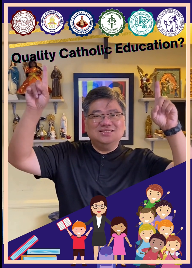 Want to experience Quality Catholic Education? We got you here at Clusters 5 and 6! Register now!