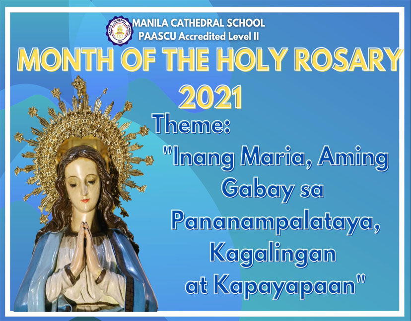Month of the Holy Rosary 2021.