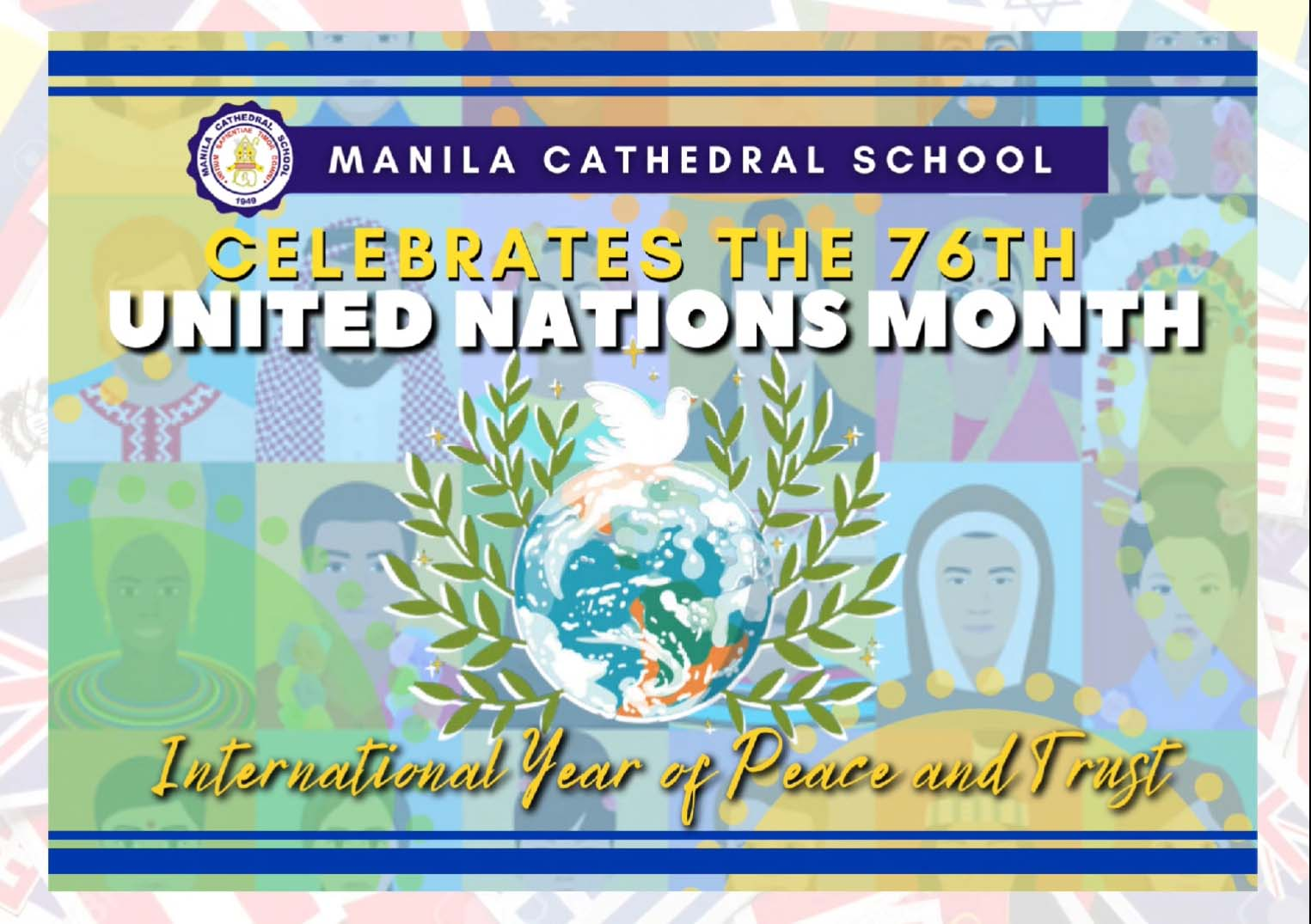 Today marks the opening of the 76th UNITED NATIONS MONTH CELEBRATION with the theme: