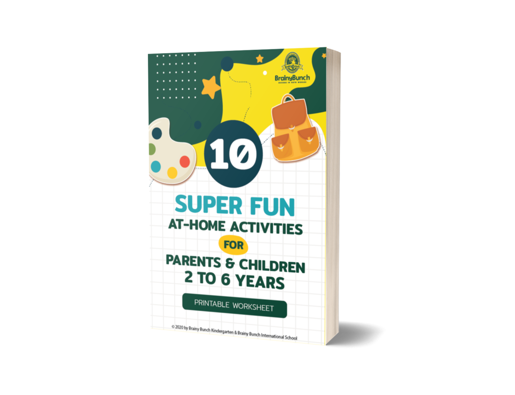 10 Super Fun At-Home Activities (Printable Worksheet) For Parents and Children 2 to 6 Years