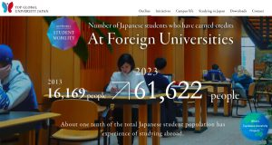The statistics of Foreign Universities