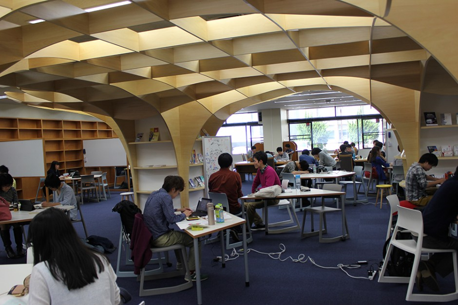 Kyoto University, learning commons