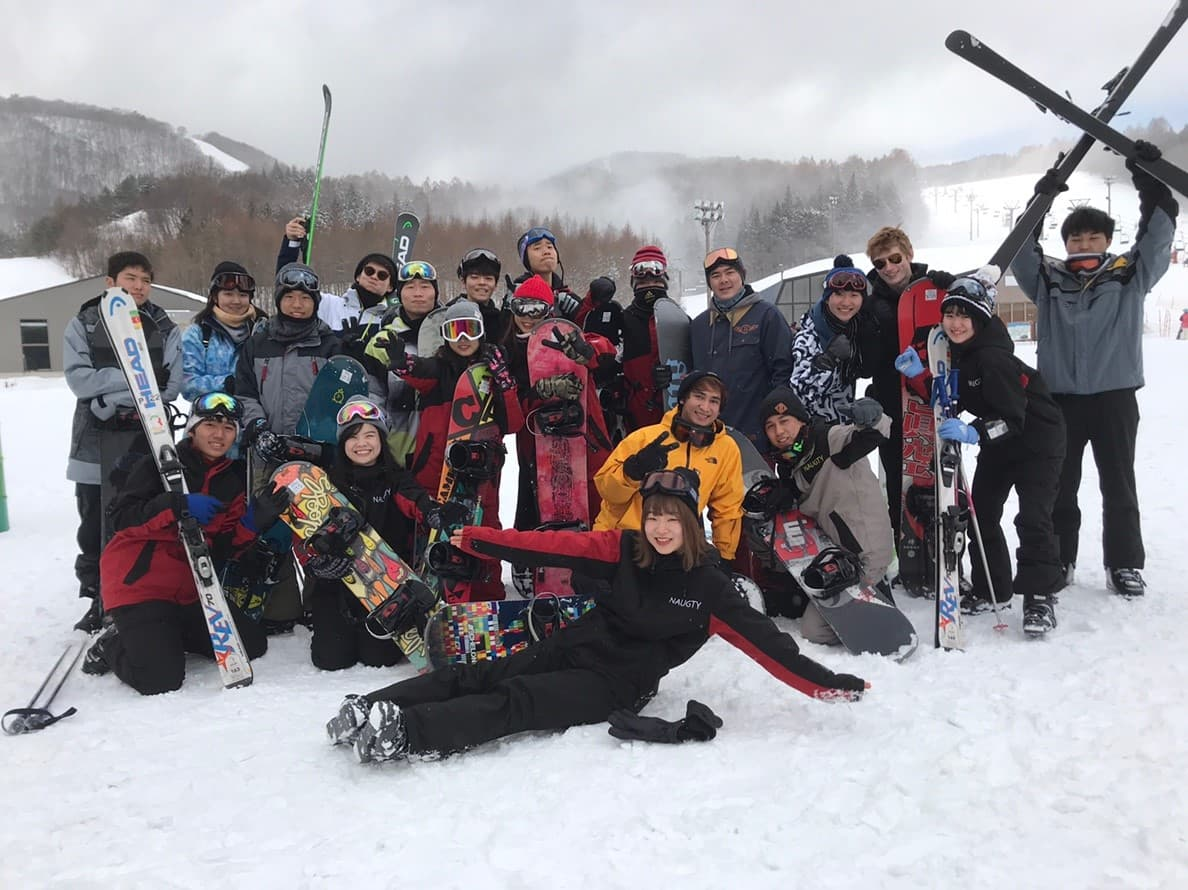 SNowboard trip for international students