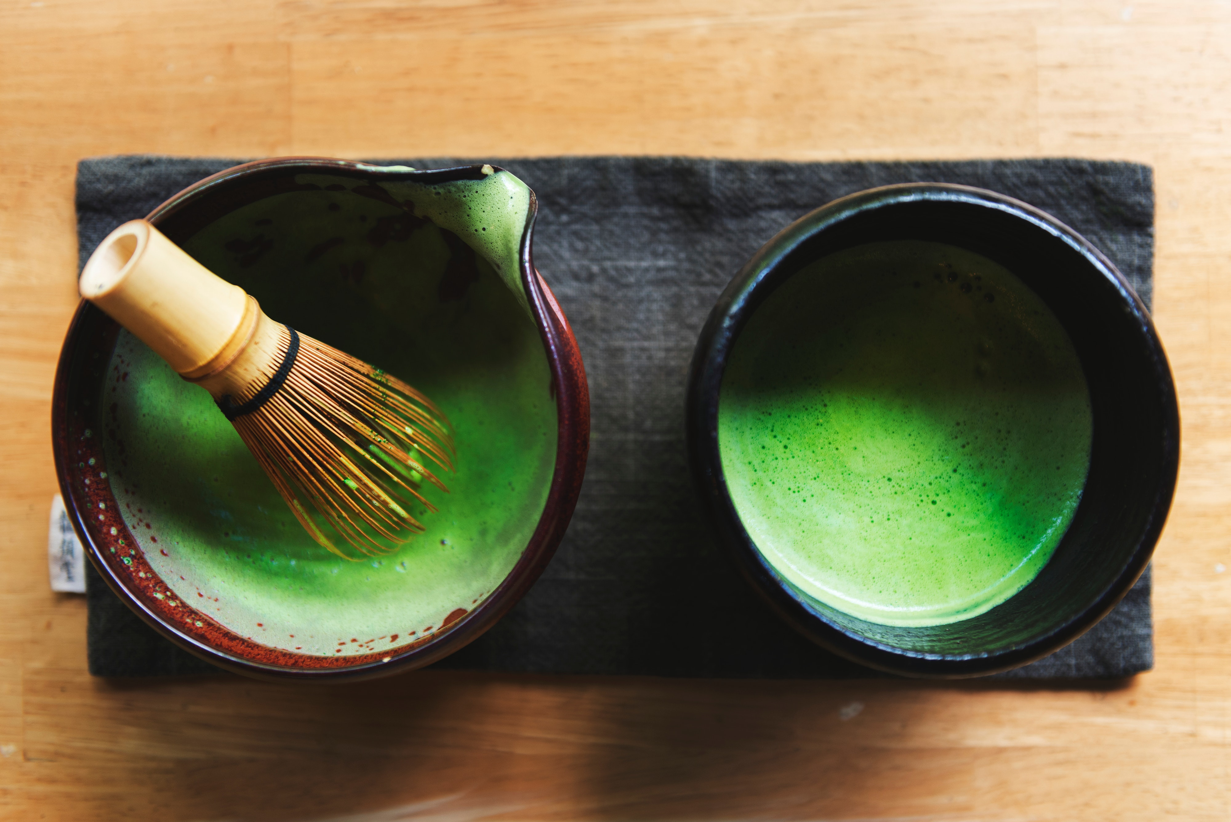 Exchange students can learn about traditional Japanese activities like the tea ceremony tradition