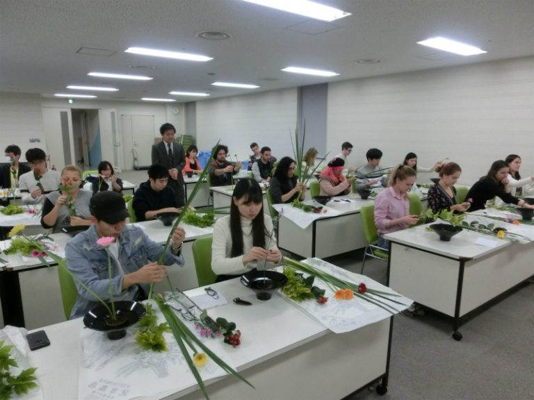 Japanese class at Osaka University