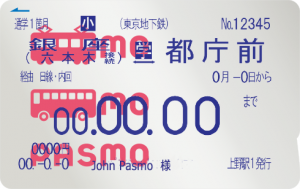 Rechargeable IC cards are used as discounted train passes in Japan.