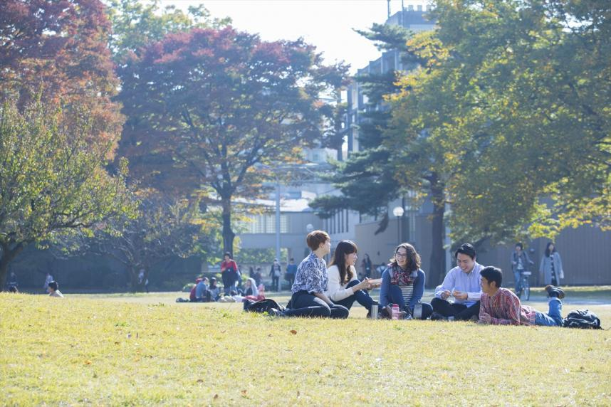 Students at International Christian University are very diverse making ICU as one of the top international university in Japan