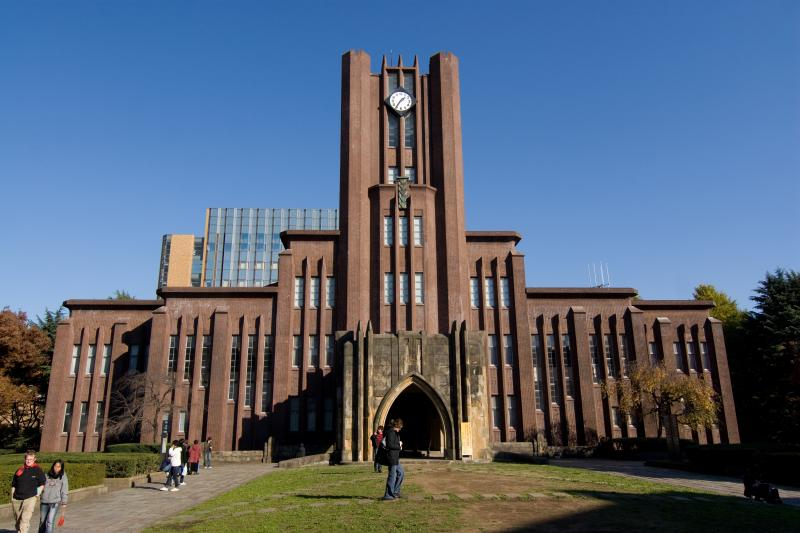 One of the most recognisable buildings on the University of Tokyo Campus, the Clocktower