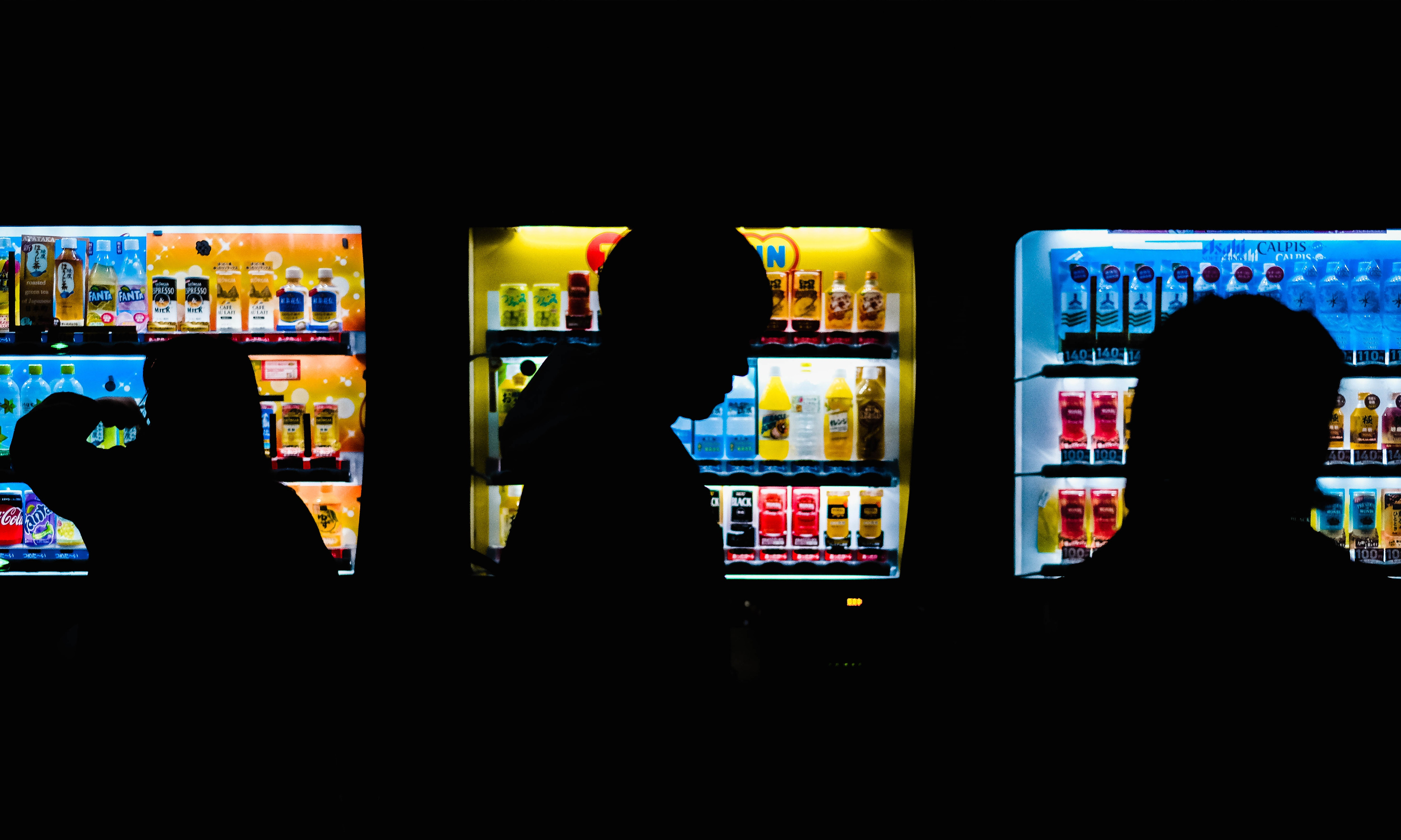 Vending machines are everywhere in Japan and its located at the most convenient places such as train stations.