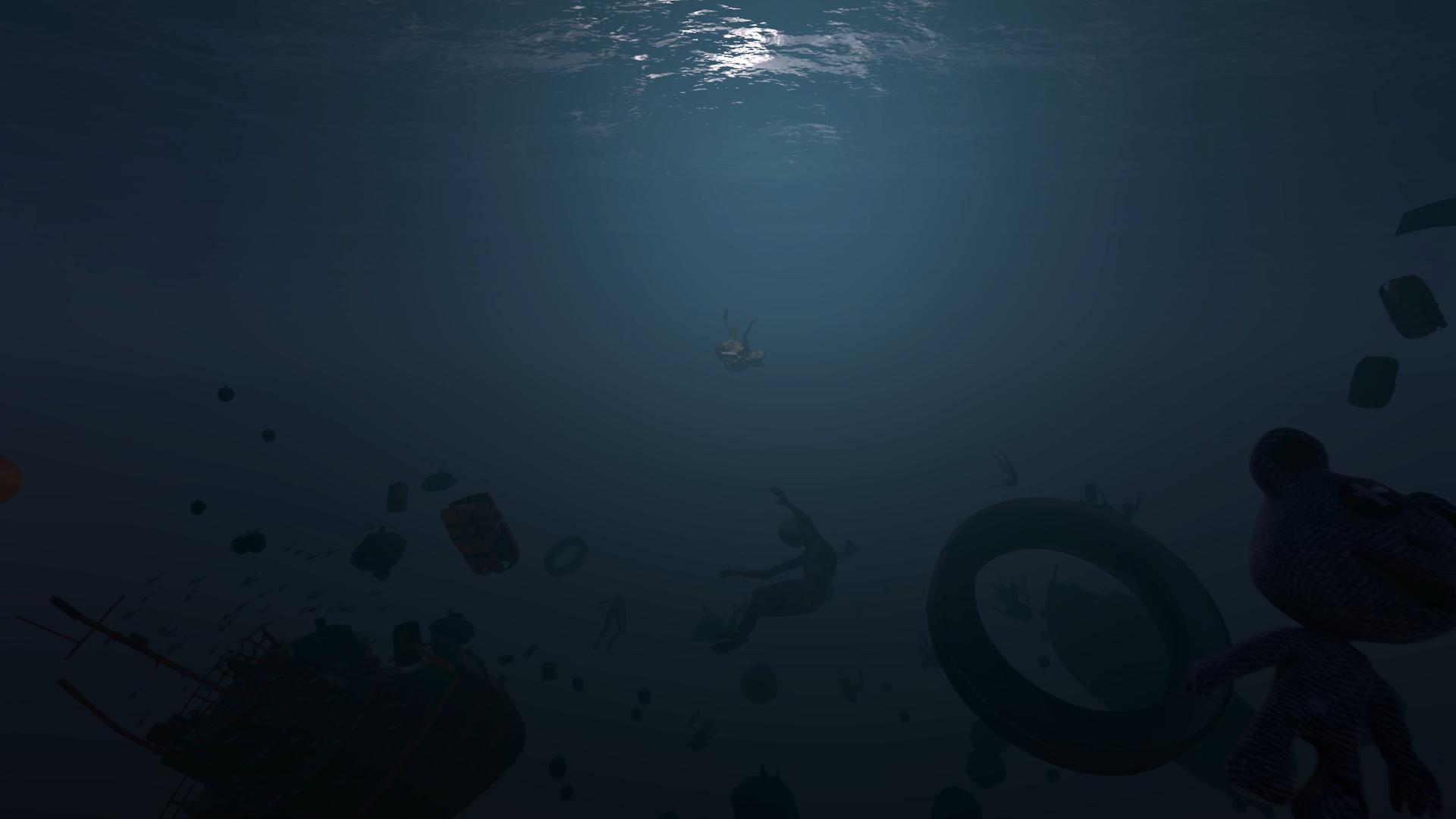 underwater film still