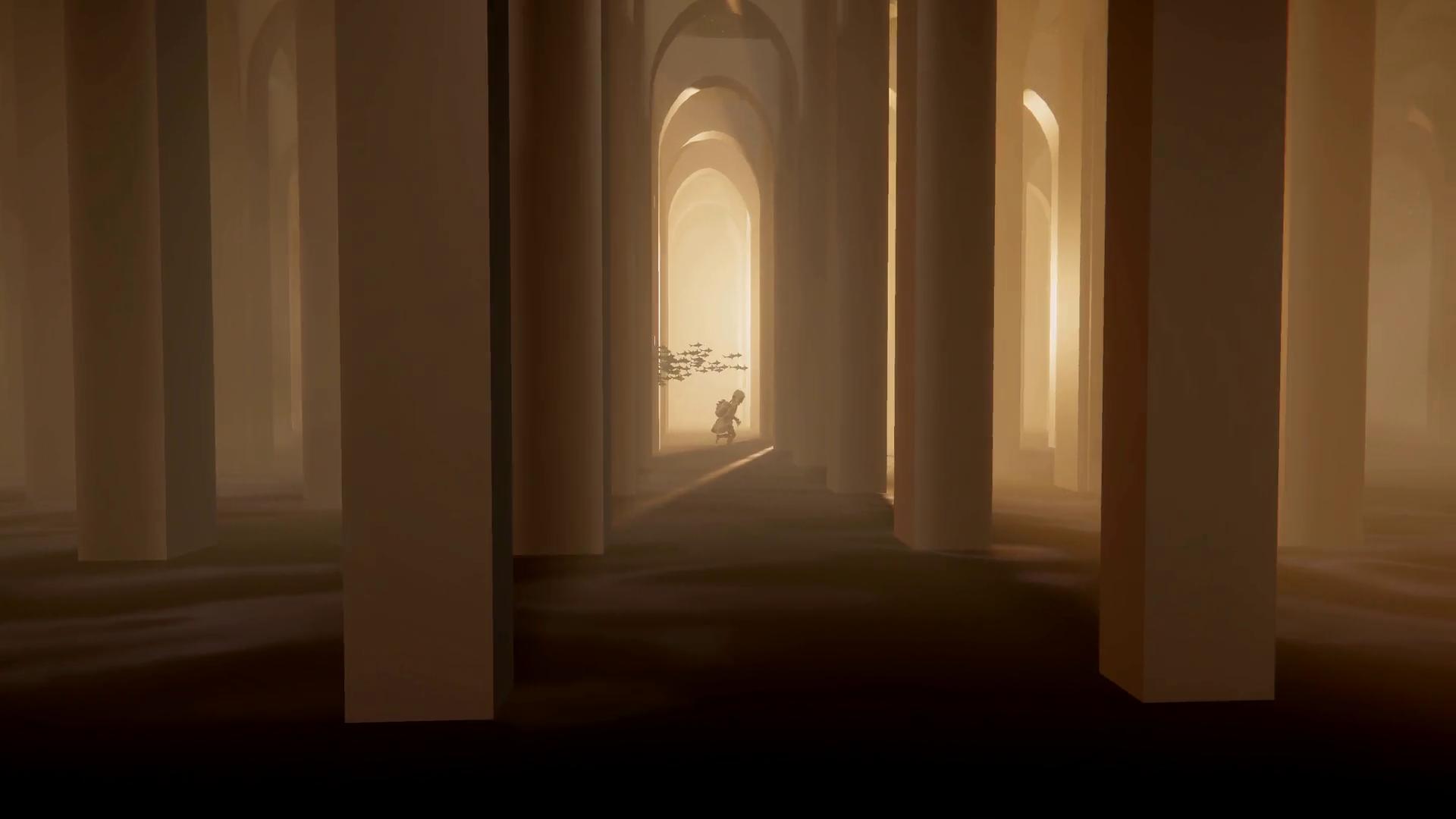 columns corridor film still