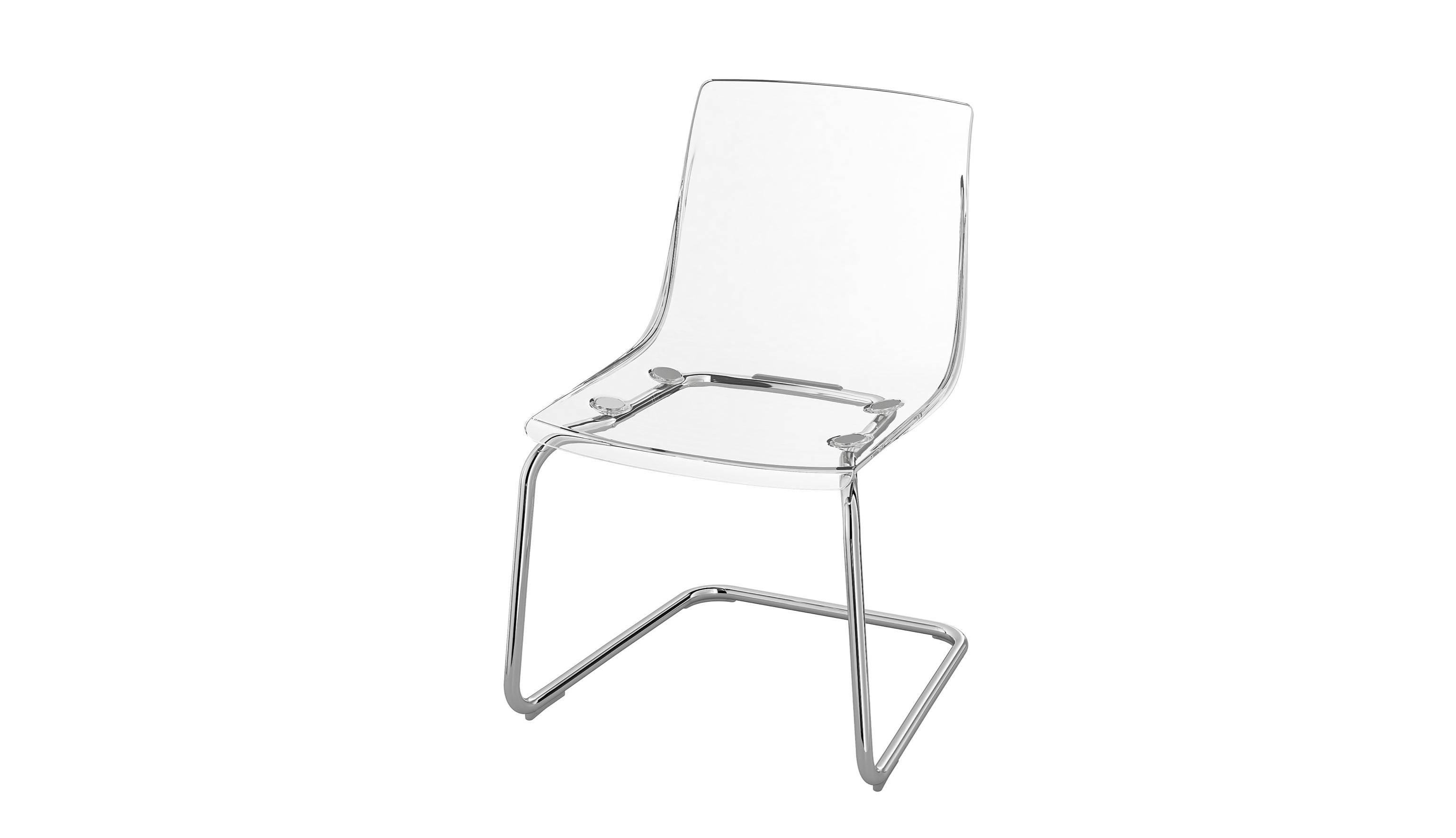 clear ikea chair