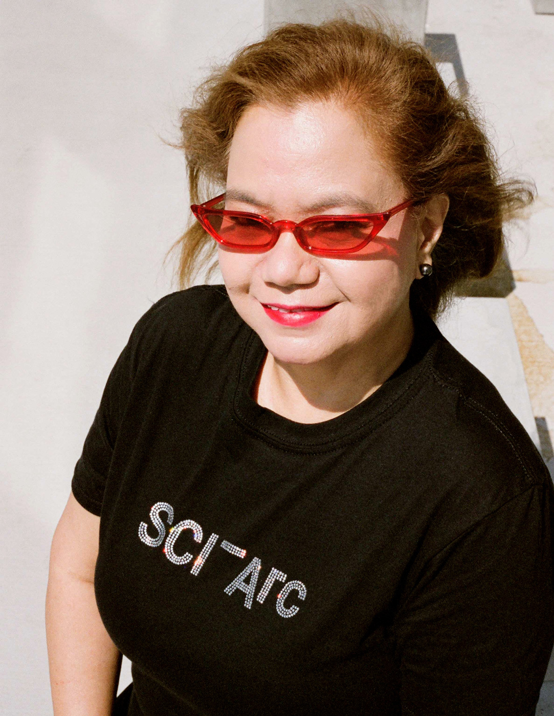 Becky Cuenco glasses tshirt