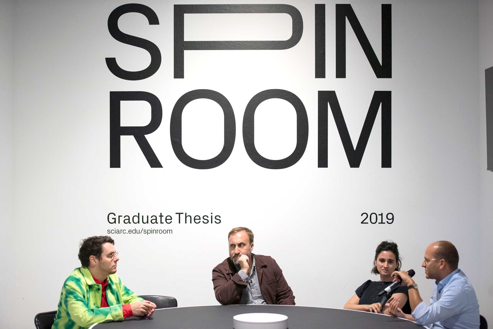 graduate thesis spin room