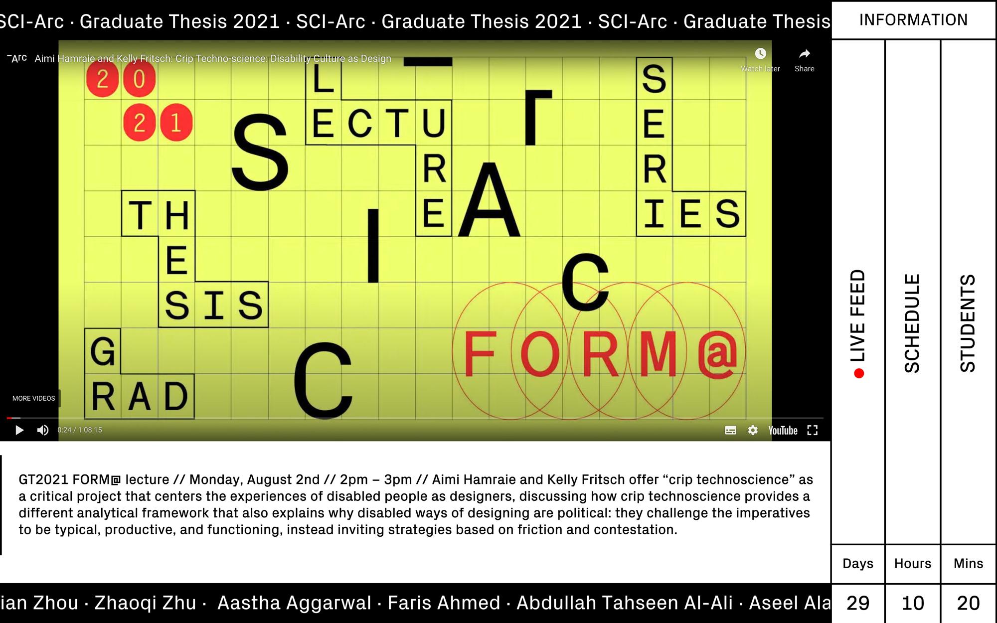 website screenshot yellow black white text